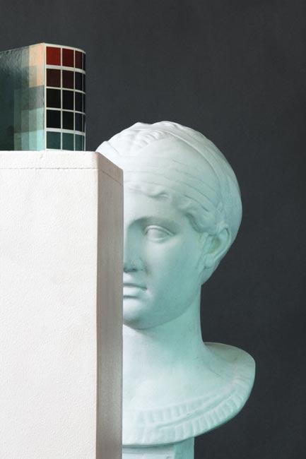 3077 (Pixel-head), 2011, B.St.