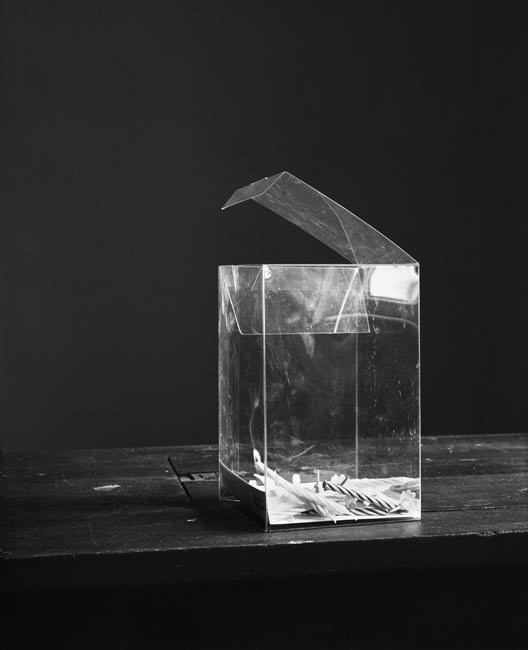 A plastic box, 2009, Budapest