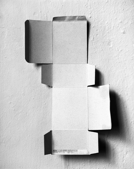 45_040 (An unfolded box), 2009, Budapest