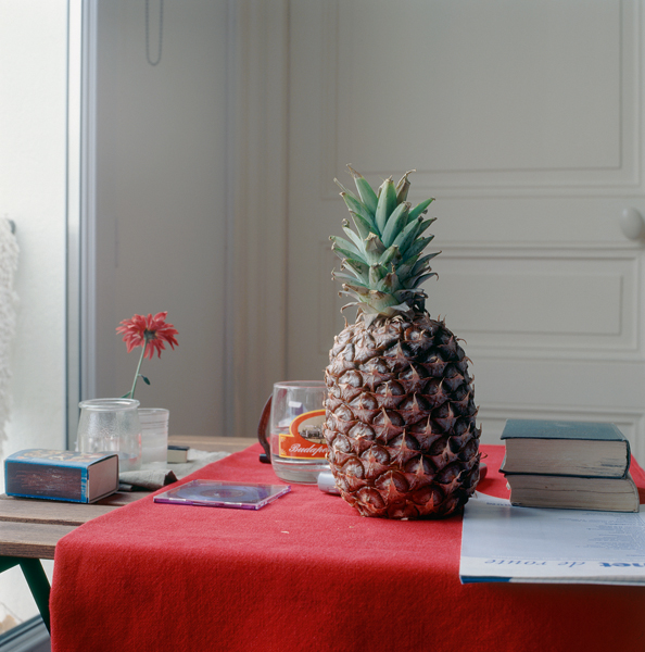 Still-life with pineapple, 2005, Paris