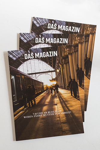 Keleti Railway Station, Budapest. Cover photo for Das Magazin, commissioned by Studio Andreas Wellnitz