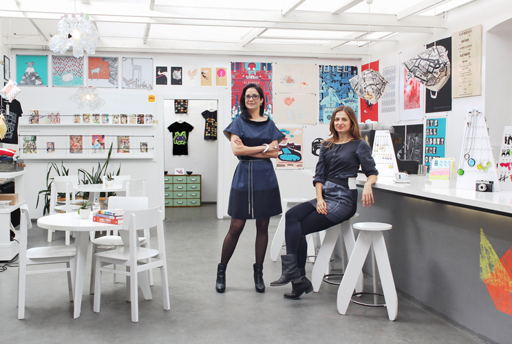 Claudia Martins and Zita Majoros (Printa Shop Budapest) commissioned by Ink Global for Ryanair Magazine