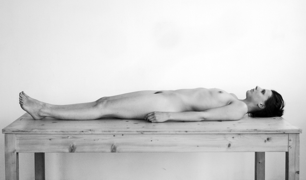 Lying Female Body