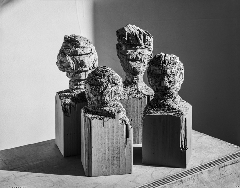 Family portrait (Four bedposts), 2016, New York